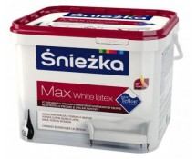 Sniezka white latex MAX 9 литров