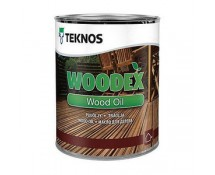 Teknos Woodex Wood Oil 0,9 l Коричневый