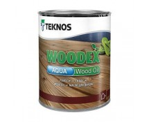 Teknos WOODEX Aqua Wood Oil 0.9 L бесцветный